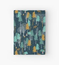 Winter Camping Hardcover Journal