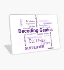 Decoding Genius 2 Laptop Skin