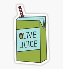 Olive Juice Sticker