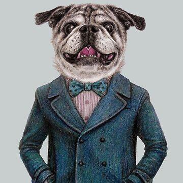 dog portrait  by windzao