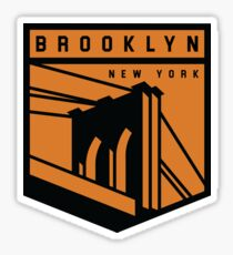 Brooklyn, NY graphic Sticker