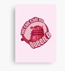 Queen Dalek Canvas Print
