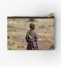 Look forward not back Studio Pouch