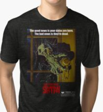Say You Love Satan 80s Horror Podcast - Night of the Creeps Tri-blend T-Shirt