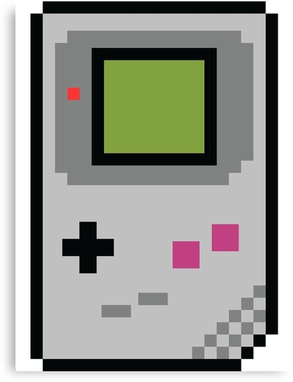 8 bit Gameboy Classic by PlatinumBastard