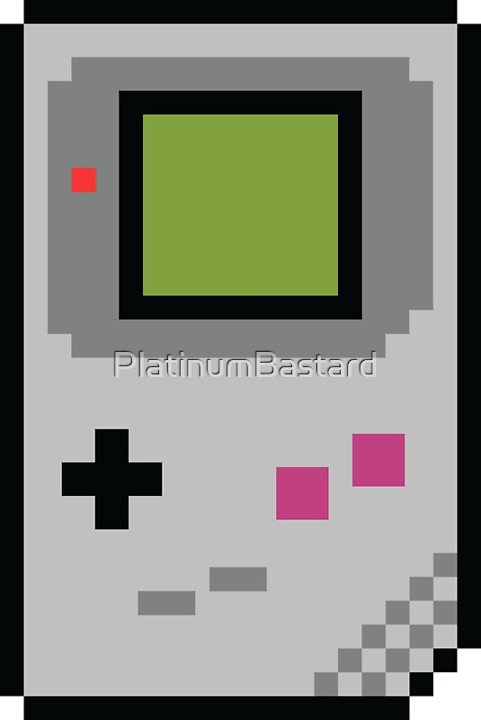 Quot 8 Bit Gameboy Classic Quot Stickers By Platinumbastard