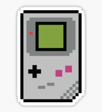 8 bit Gameboy Classic Sticker