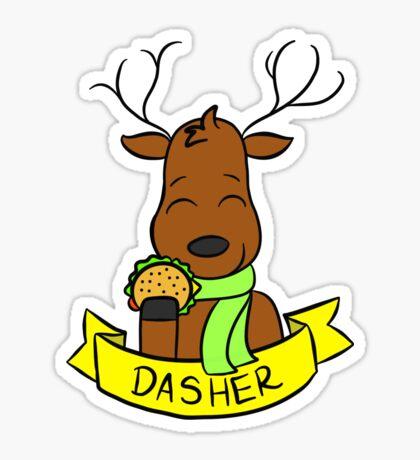 Dasher Sticker