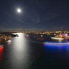 Vivid Harbour - Full Moon Rising by ShotsOfLove