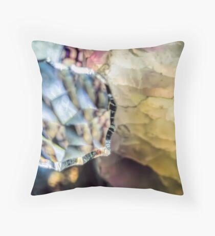 Captured in a Gem Throw Pillow