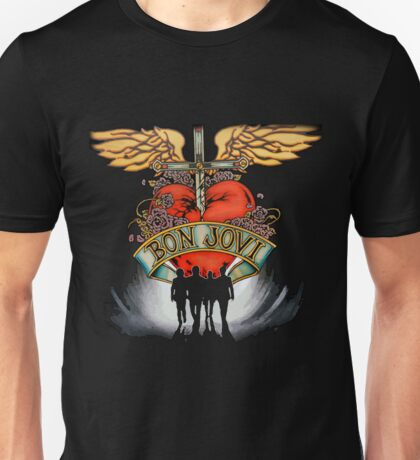 Bon Jovi World Tour Unisex T-Shirt