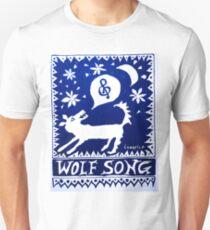 Wolf Song Blue Unisex T-Shirt