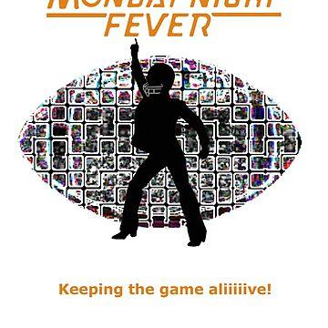 Monday Night Fever Disco Football by DarkCrow
