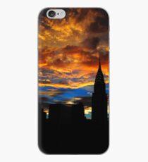 Vinilo o funda para iPhone  Golden Sunset Indigo Sky