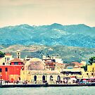 The magical town of Chania, Crete, Greece by Sue Wellington