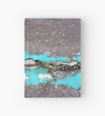 Frozen Lake at Twilight Hardcover Journal