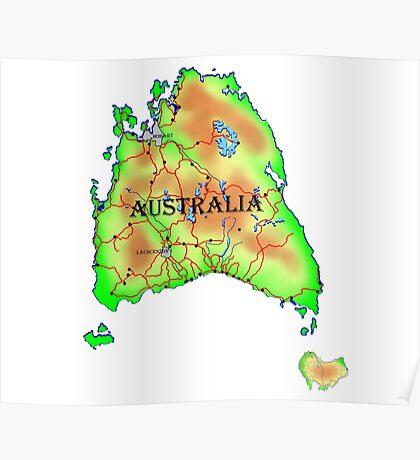 Tasmania's Revenge Poster