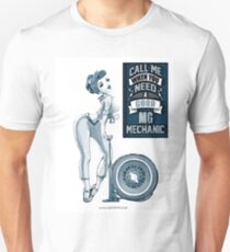 MG Mechanic Call me T-Shirt