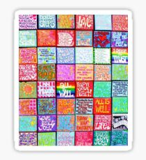 Collection Of Inspiration - Rectangle Sticker