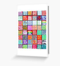 Collection Of Inspiration - Rectangle Greeting Card