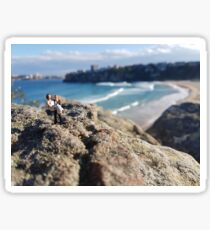 Beach Wedding Miniatures Sticker