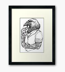 The Crow Man Framed Print