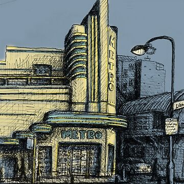 The Metro (Minerva) Theatre, Potts Point Home of Dr D Studios, Kennedy/Miller/Mitchell production company by joeltarling