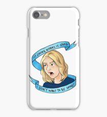 Britta Perry iPhone Case/Skin