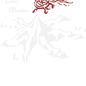 The Lonely Mountain Funny by fathanarsyad
