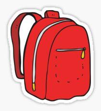 cartoon rucksack Sticker