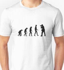 Fotografie evolution Unisex T-Shirt