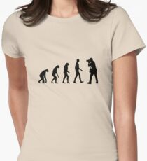 Fotografie evolution Womens Fitted T-Shirt