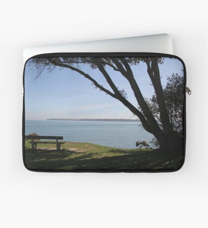 Sea View Over The Solent Laptop Sleeve