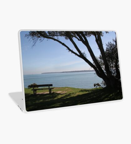 Sea View Over The Solent Laptop Skin
