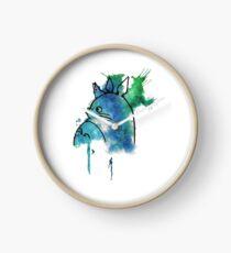 Studio Ghibli Totoro watercolour Clock