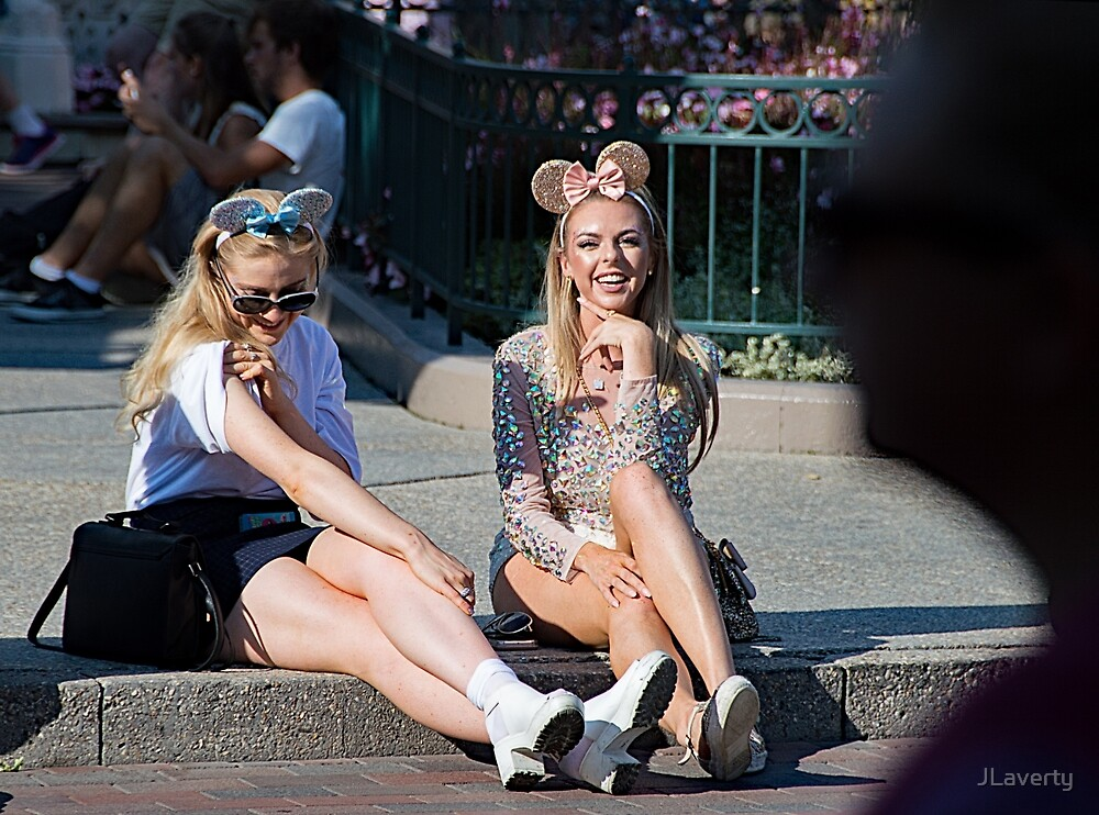 Sparkling Mouse Ears by JLaverty