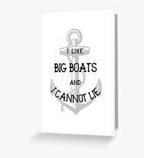 I Like Big Boats And Cannot Lie