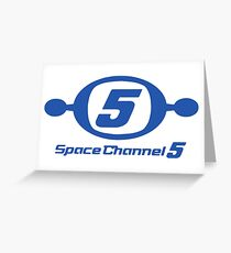 Space Channel 5 Greeting Card