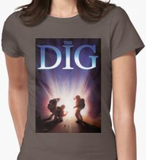 The Dig Womens Fitted T-Shirt