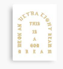 Kanye West - Leben von Pablo, Ultralight Strahl Merch (Kanye West, Yeezy) Leinwanddruck