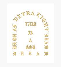 Kanye West - Leben von Pablo, Ultralight Strahl Merch (Kanye West, Yeezy) Fotodruck