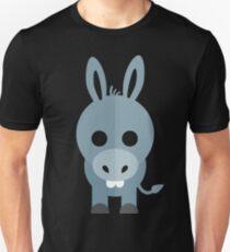 Funny blue donkey Unisex T-Shirt