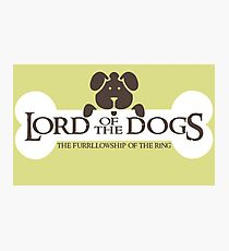 Dogs Furrlowship of the Ring  Photographic Print