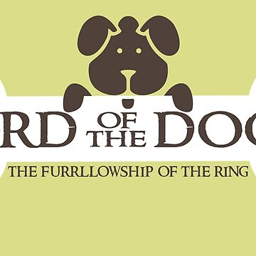 Dogs Furrlowship of the Ring  by Black-Fox