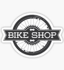 Bike shop Sticker