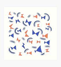 bowties v2 Art Print