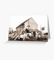 Shorterville Grocery Greeting Card