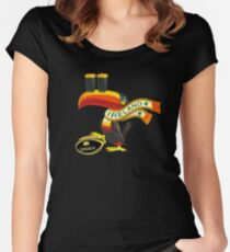 Guinness Irish Rugby Toucan Women's Fitted Scoop T-Shirt