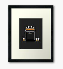 thank you cleveland! (black) Framed Print