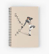 Steampunk Woman Spiral Notebook